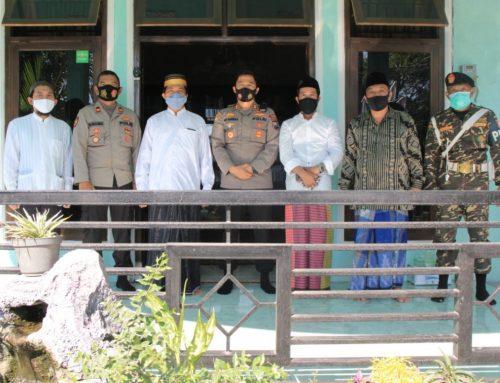 Silahturami Kapolres Jember Ke Pengurus PCNU Kecamatan Kencong